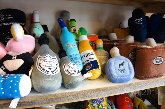 Dog toys at The Salty Paw