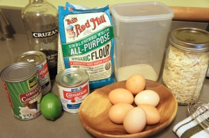Tres Leches ingredients